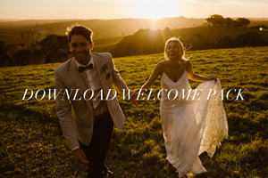 Byron Bay Weddings - Welcome Pack