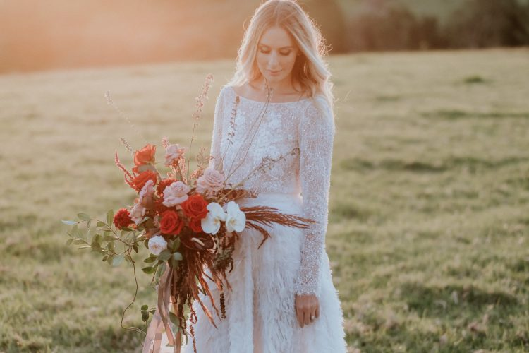 Styled shoot at Byronviewfarm showcasing winter weddings