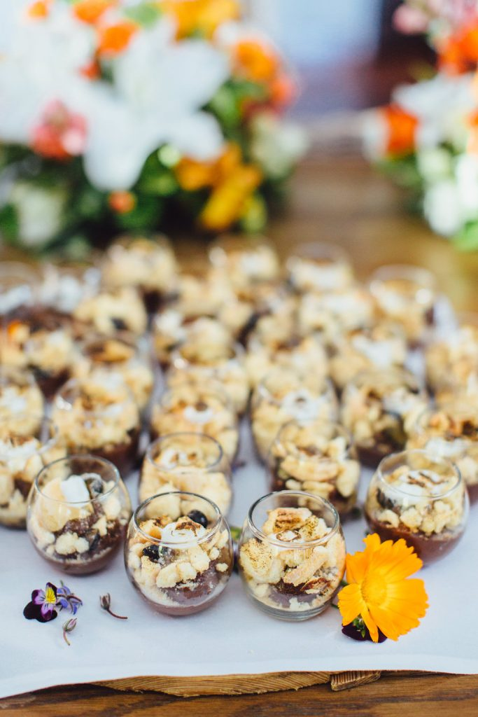 Feast Events Brookfarm granola & fruit cups