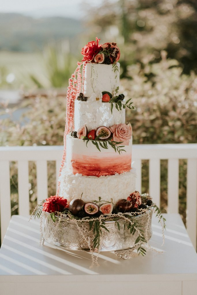 Sweet Obsessions wedding cake