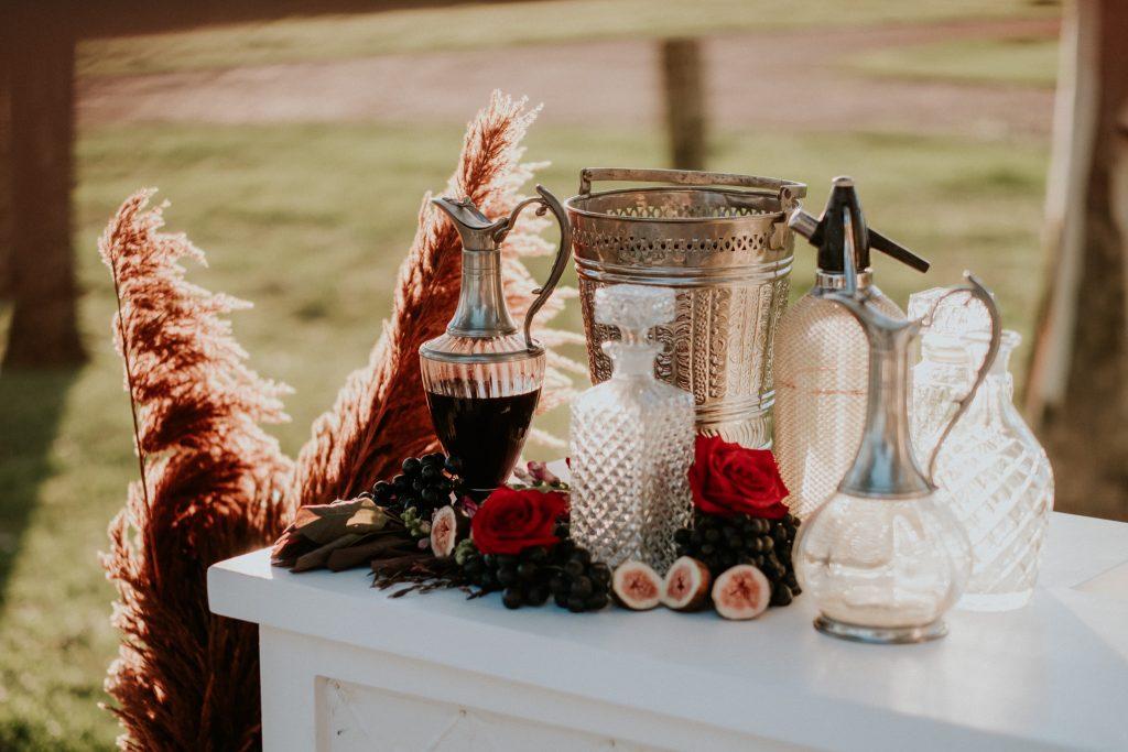Winter wedding styling at byronviewfarm