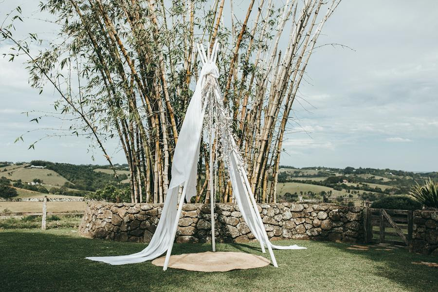 Wedding arbour - Byron Bay Weddings - The Wedding Shed