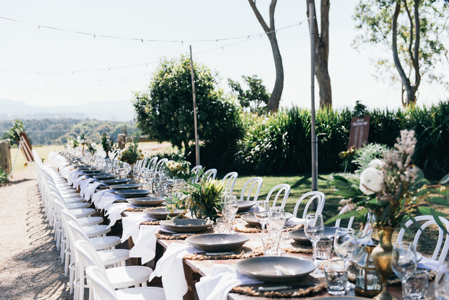 Byronviewfarm outdoor dining