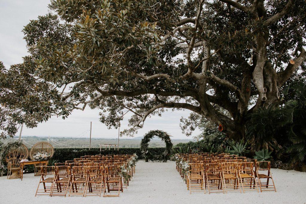 Fig Tree Restaurant Wedding Ceremony