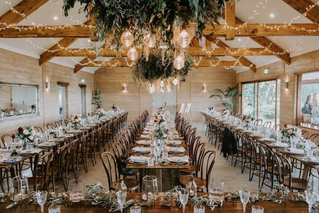 Earth House wedding reception - Byron Bay Weddings