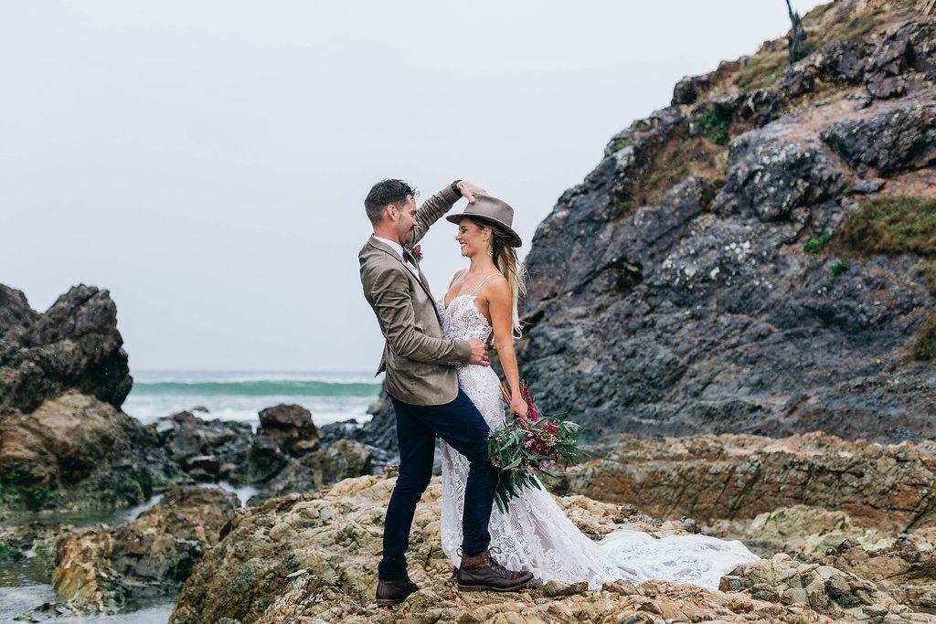 Beach Wedding Photos - Byron Bay Wedding