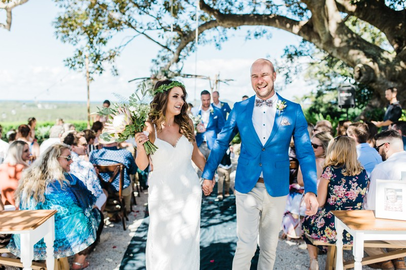 Fig Tree wedding ceremony - Byron Bay Weddings