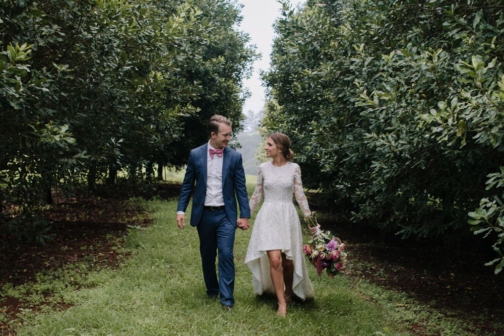 Orchard Estate Wedding - Byron Bay