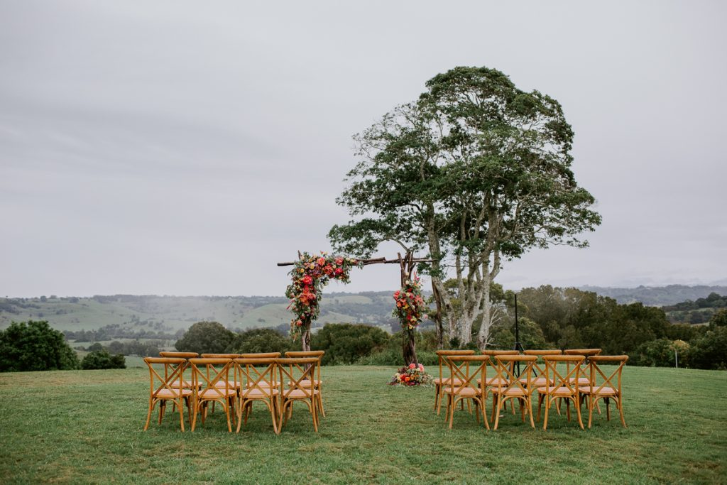 The Orchard Estate Wedding Ceremony