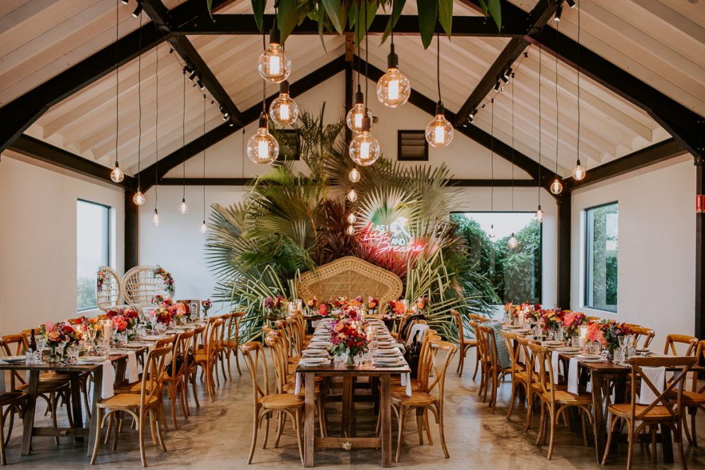 Orchard Estate Byron Bay Wedding Reception