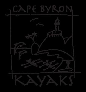 Cape Byron Kayaks Logo Square Blackandwhite