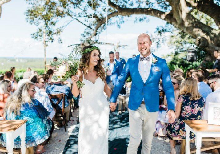 Fig Tree wedding ceremony - Byron Bay Weddings